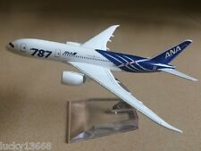 Solid ANA Dream Liner B787 Passenger Airplane Alloy Plane Metal Diecast Model