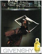 Publicité Advertising 1983 Parfum Givenchy III