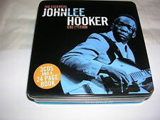 John Lee Hooker - Essential Collection (2010) CD X 3 [TIN BOX]   R&B Blues