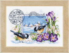 Winter Stamp : Vervaco Counted Cross Stitch Kit - PN0148640