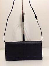 Authentic Louis Vuitton Honfleur Shoulder Clutch Bag. Black Epi Leather. Ex Cond