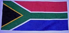 South Africa Flag Cotton Bar Towel   525mm x 250mm  (pp)