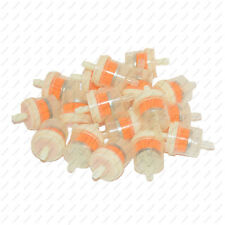 """10X Universal Motorcycle Mini Small Engine Inline Carb Fuel Gas Filters 1/4"""" 6mm"""