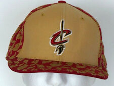 Adidas Cleveland Cavaliers Wine & Gold NBA 100% Wool Baseball Hat Cap 7 3/4