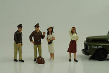 Remembering Pearl Harbor Set 4 Figurines Figur 1:24 Figures American Diorama