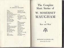 THE COMPLETE SHORT STORIES OF W. SOMERSET MAUGHAM-I EAST AND WEST