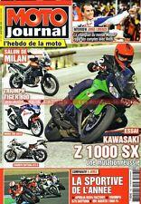 MOTO JOURNAL 1927 YAMAHA 175 DT KAWASAKI Z1000 SX TRIUMPH 675 800 Tiger Daytona