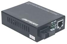 Intellinet Transceiver Gigabit Ethernet Fibra Ottica WDM RX1310/TX1550
