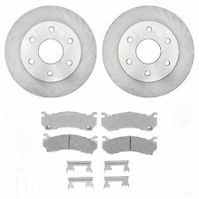 GM AC Delco 18A925A + 14D785CH Front Rotors & Brake Pads Disc New Free Shipping