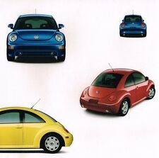 1998 Volkswagen VW BEETLE / BUG Brochure with Color Chart: TDi Diesel