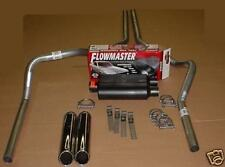 Ford F150 07-13 Dual Exhaust Kit + Flowmaster Super 44 Muffler + Tips