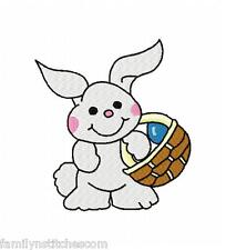 Easter Time Set 4 10 Machine Embroidery Designs on CD Eggs Basket Bunny Chicks