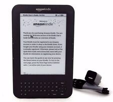 "Amazon Kindle Keyboard (3rd Gen), 4GB, Wi-Fi + 3G, 6"", Scratch & Dent, 25-1G"