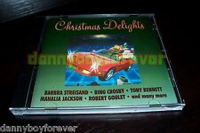 Christmas Delights One Way Label Jerry Vale Ray Conniff Jim Nabors Bing Crosby