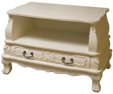 Bergere TV Cabinet  Antique French Shabby Chic Television TV Unit Stand Cabinet.