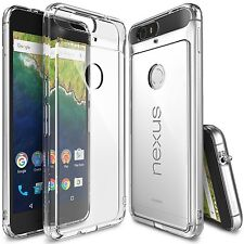 Ringke Fusion Slim Hard Dust Cap Clear View Back Cover For Huawei Nexus 6P Case