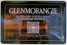 GLENMORANGIE , BLECHSCHILD, SINGLE MALT WHISKY SCOTLAND