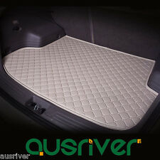 Boot Liner Cargo Mat Floor Protect Rear Trunk Tray Cream Fits Hyundai i30 2010