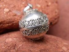 SILVERANDSOUL HANDCRAFTED BALINESE 925 SILVER HARMONY/CHIME BALL ANGEL CALLER