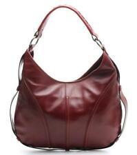 YSL Yves Saint Laurent Red Leather Shoulder Bag
