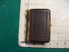vintage book: The Book of COMMON PRAYER 1869, tiny book, cover off