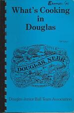 WHAT'S COOKING IN *DOUGLAS NE 1988 JUNIOR BALL TEAM & FRIENDS COOK BOOK *HISTORY