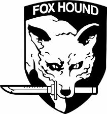 FOX HOUND Car,Boat,Van,Window,Furniture,Laptop,Vinyl graphics/sticker/Decal