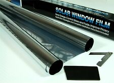 2 x ROLL 3m x 75cm SILVER MIRROR 15% CAR WINDOW TINT FILM TINTING