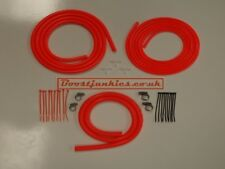 Toyota Supra Silicone Vacuum Hose Engine Dress up Kit in Bright/Floro Orange