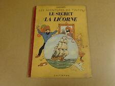 BD HC 1947 / TINTIN - LE SECRET DE LA LICORNE