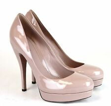 $650 New Authentic Gucci Patent Leather Platform Pump Pink 36.5/6.5 309995 6812