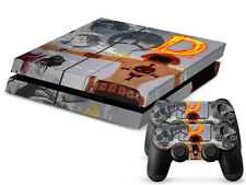 New One Piece Skin Sticker Set for PS4 Playstation 4 Console Controller