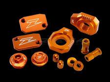Zeta Billet Kit Orange Anodized Aluminum KTM ZE51-2433