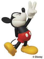 NEW Medicom Disney x Roen Collection Peace Sign Mickey Ultra Detail Figure