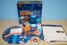 Deluxe 2 Disc Scene It ? The Original DVD Movie Game 2003 Screenlife Party Game