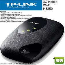 TPLink M5250 Portable Wi-Fi Mi-Fi ROUTER 3G Modem HSPA+ 21.6Mbps 2000mAh Battery
