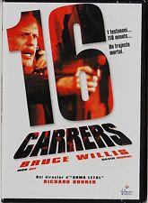 16 CARRERS (16 CALLES) de Richard Donner con Bruce Willis. Edición diarios.