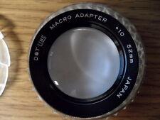 Vivitar 52mm Macro Adapter +10  Japan