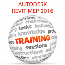 Autodesk REVIT MEP 2016-Video formazione tutorial DVD