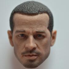 1/6 Kaustic Plastik Head KP04-B Caucasian Male/Doll/Figure/Custom/Brad Pitt