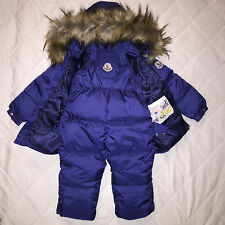 New Baby Boys Duck Down Snowsuit, Size: 3T