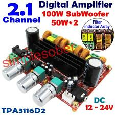 2.1 Channel Digital Amplifier Board TPA3116D2 2*50W+100W Subwoofer Power XH-M139