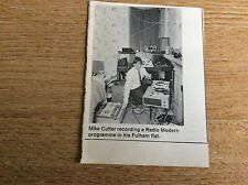 M6-0 ephemera  1970 picture radio modern fulham mike cutler