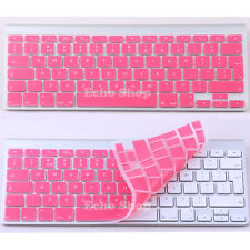 "UK Silicone Keyboard Keypad Cover Protector For Apple 13"" 15"" Macbook Pro"