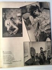 Keith Richard (Stones) wasted RS magazine PHOTO / Poster/Clipping 12x10 inches