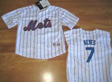 AUTHENTIC NEW YORK METS REYES JERSEY MAJESTIC 7T 7 T Y TODDLER YOUTH PIN STRIPE