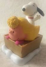 2015 McDONALDS HAPPY MEAL TOYS, PEANUTS MOVIE  ( #5 SALLY AND SNOOPY)