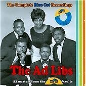 The Ad Libs-The Complete Blue Cat Recordings CD NEW