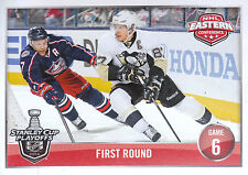 14/15 PANINI NHL STICKER #467 STANLEY CUP PLAYOFFS JACKETS PENGUINS CROSBY *2887