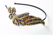 Beautiful Crystal Sparkly Beaded Flapper Gatsby Headband Women Hair Accessories